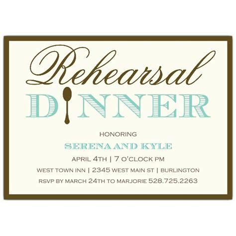 invitations for a wedding rehearsal dinner simple elegance rehearsal dinner invitations paperstyle