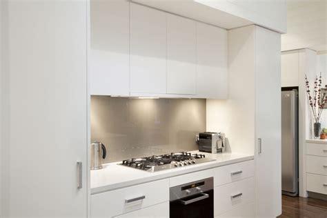 Modern Galley Kitchen Photos - graceville modern kitchen by makings of fine kitchens