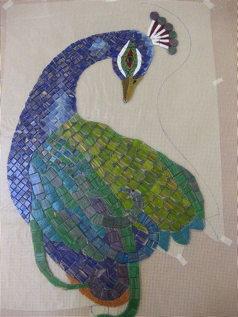 mosaic pattern peacock 13 best images about mosaic on pinterest peacocks bird