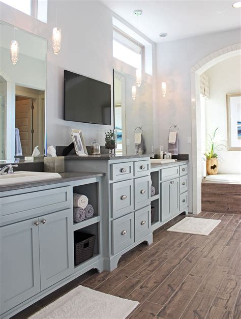 Bathroom burrows cabinets central texas builder direct custom cabinets