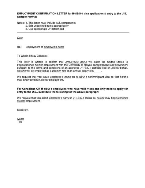 Employment Letter For Malaysia Visa employment letter visa application sle employment