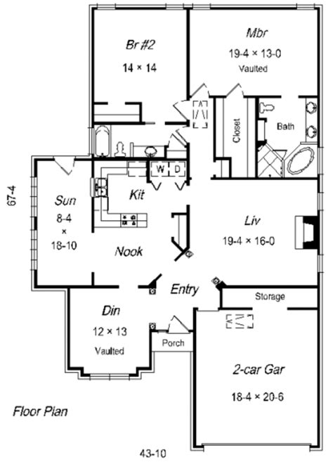 1910 house plans traditional style house plan 2 beds 2 00 baths 1910 sq