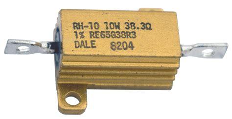 Dale Rh 50 30w 806 Ohm 1 wire wound resistors 30 ohm to 49 9 ohm