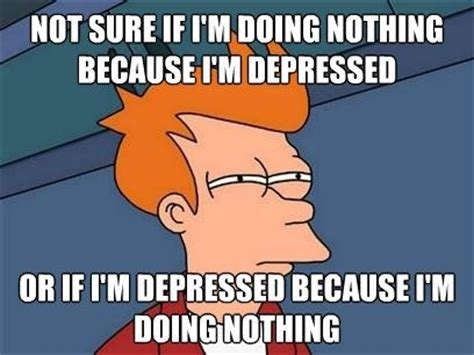 Meme Depressed Guy - depression or procrastination