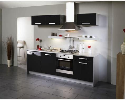 cuisine noir laque meuble haut cuisine noir laqu 233 cuisine id 233 es de
