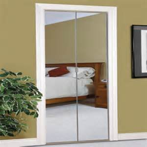 Bifold Mirrored Closet Door Colonial Elegance 174 Beveled 30 Quot X 80 1 2 Quot Steel Frameless Mirrored Bifold Door