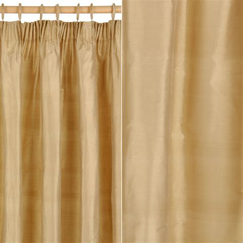 Lightweight Fabric For Curtains Lightweight Fabric For Curtains Lewis Plain Silk Pencil Pleat Curtains Gold Review