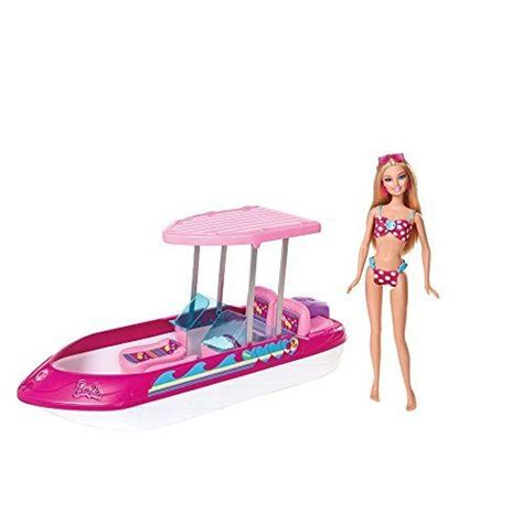 barbie speed boat set barbie glam speed boat and doll playset barbie http www