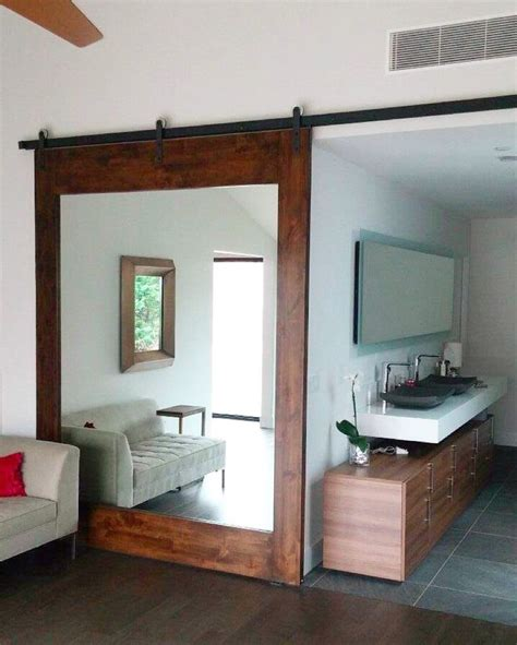 bathroom door mirrors best 25 sliding bathroom doors ideas on pinterest door