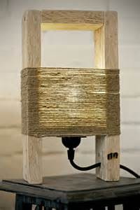 Thin Bedside Table cute wood table lamp made with a pallet id lights