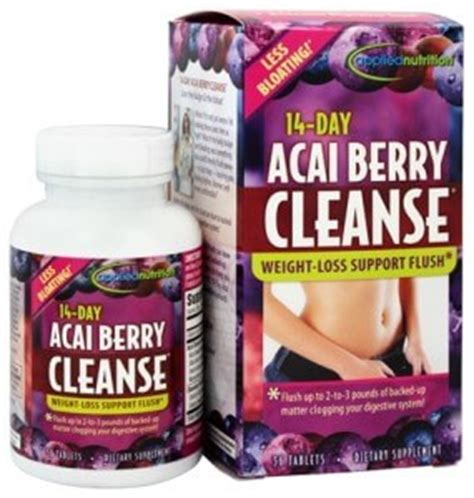 Acai Berry Detox Results by 14 Day Acai Berry Cleanse Review How It Works Side