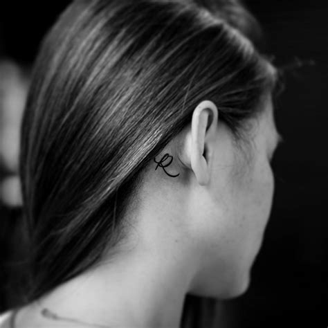 first tattoo behind ear 11 tiny tattoo ideas for behind your ear from celebrity
