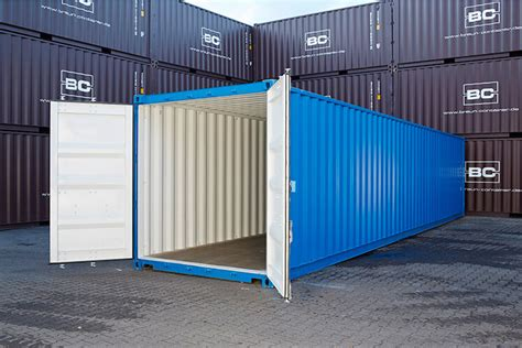 container  fuss  fuss high cube  lagercontainer