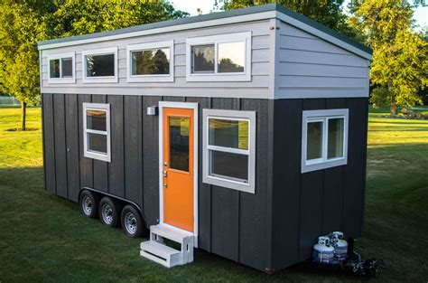 tiny house on wheels stunning one quit their