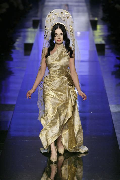 Who Wore Jean Paul Gaultier Better by Jean Paul Gaultier At Couture 2007 Livingly