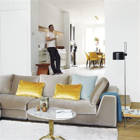 open plan terraced house take a tour around an elegant modern home housetohome co uk