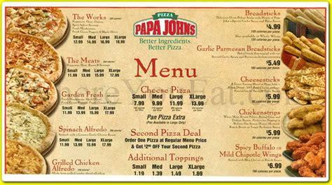 papa s menu and prices 2017 restaurantfoodmenu