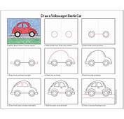 Draw A VW Beetle Car  Art Projects For Kids