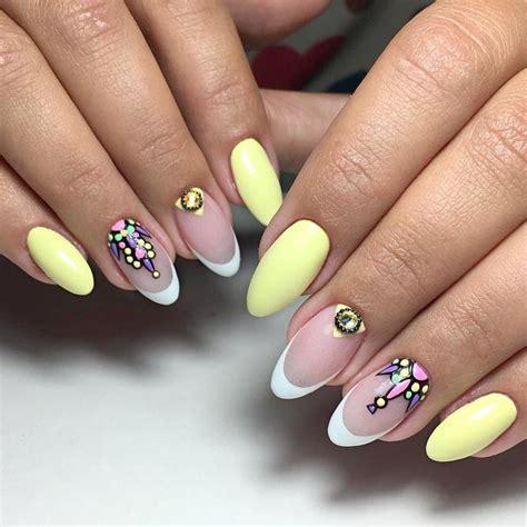 light yellow nail 39 fabulous summer nail colors naildesignsjournal com