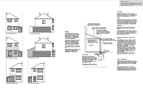 house extension plans exles exle plans gloucester and stroud
