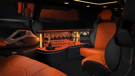 lamborghini limo lamborghini aventador stretch limousine concept shown