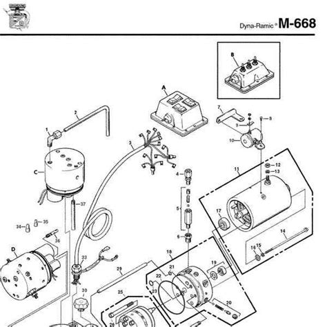monarch hydraulic parts diagram wiring diagram