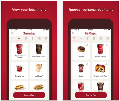 tim mobile tim hortons mobile ordering app now available daily hive