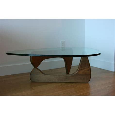 herman miller noguchi walnut coffee table coffee side