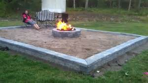 Firepit In Backyard Building Back Yard Themed Pit Series Compilation