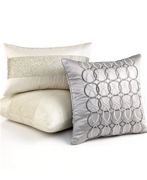 macys bed pillows hotel collection bedding calligraphy decorative pillow