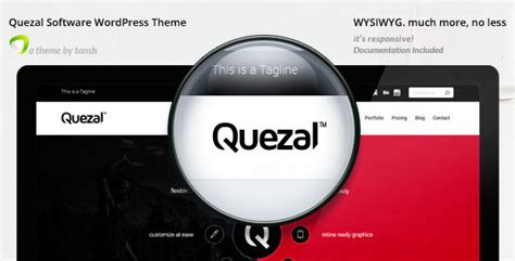 Themeforest Quezal | themeforest quezal v2 3 1 software responsive