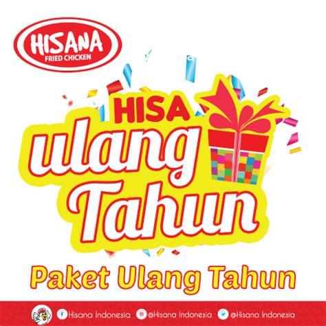 macam macam paket hisana fried chicken indonesia hisana
