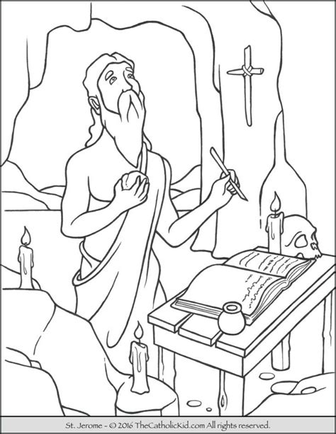 st coloring pages st joseph coloring pages coloring home