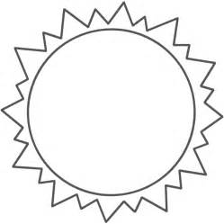 what color is the sun shapes to color coloring pages