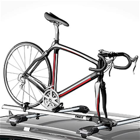 Bike Racks For Cars Roof Mount by Thule 527 Paceline Fork Mount Bike Bicycle Carriers For