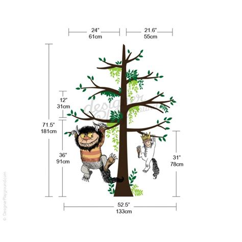Octonauts Wall Stickers where the wild things are carol amp max on tree