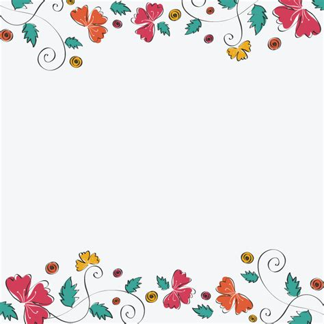 flower pattern on white background simple floral pattern in white background 1designshop