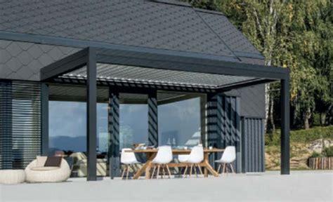 Terrassendächer Alu Preise by Pergola Mit Verstellbaren Lamellen Lamellen Sichtschutz