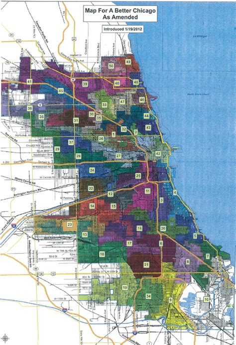 chicago ward map the new chicago ward map passes chicago magazine the 312 january 2012