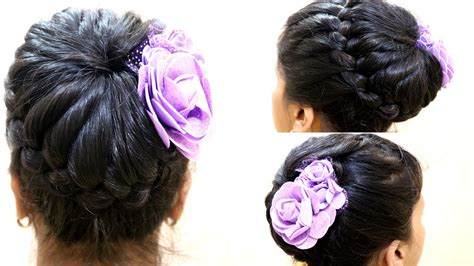new hair style vidow big bun for party party hair style for ladies new hair