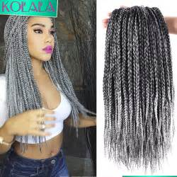 micro braids ombre hair 18 inch ombre crochet box braids 24 roots micro box