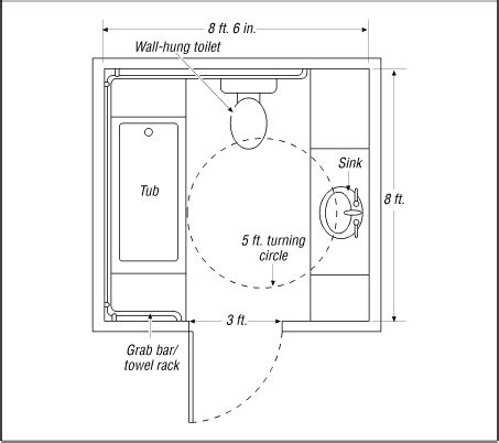 ada bathroom floor plan handicap access bathroom design floor plans yahoo image