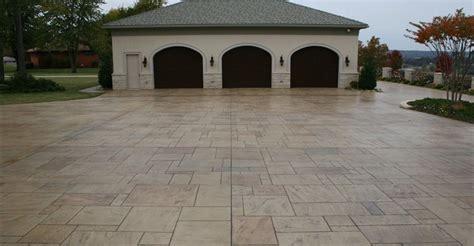 Delightful Raised Garage Floor #2: Garage-parking-stamped-stone-ozark-pattern-concrete-inc_55821.jpg