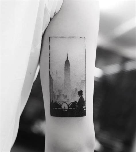building tattoos empire state building inkstylemag