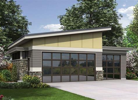 plan  contemporary garage plan garage house