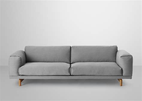 muuto rest sofa rest 3 seater lounge sofas from muuto architonic