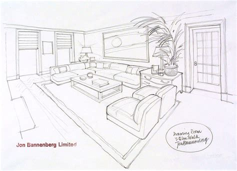 draw a room online design by jon bannenberg for a drawing room at 3 elm walk