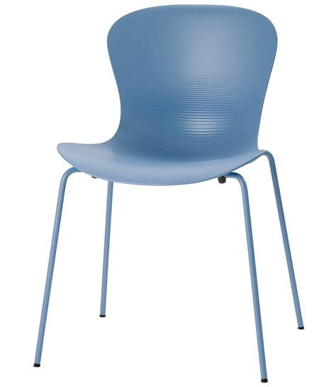 sky blue chair nap chair monochrome