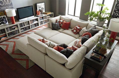 bassett modular sectional sofa beckham pit sectional by bassett furniture contemporary