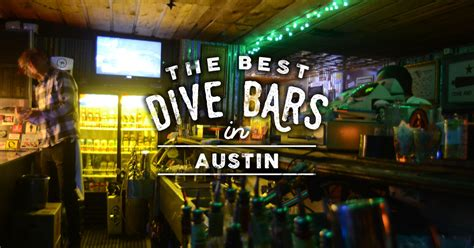 top bars austin best dive bars austin thrillist